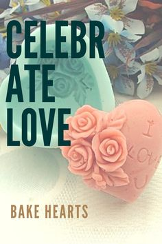 Celebrate love! Bake hearts!  Adorable heart shaped flower  embroided baking mold. Smart purchase at $4.99.
