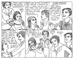 """The idea that Lord Byron would ever say something like """"Bitches, man."""" sends me into hysterics every time."""