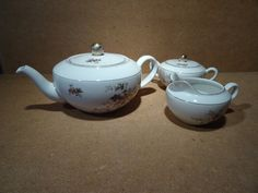 Beautiful 3pc Teapot set by Arzberg Bavaria by ADFABRUMSTORE