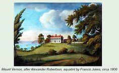 Francis Jukes (after Alexander Robertson) - Mount Vernon, circa 1800.