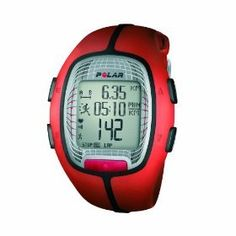 c38d9b61adf Polar SD Heart Rate Monitor Watch with Foot Pod (Orange) Watch and heart  rate monitor in one designed to help serious fitness enthusiasts study and