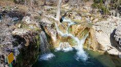 Edge falls near Boerne, Texas