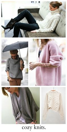 Inspiration   Shopping: Comfy, Cozy KnitsPosted on October 23, 2013  by  Danielle            in chunky knits, Fall, sweaters            in Inspiration, Shopping   0 Inspiration   Shopping: Comfy, Cozy Knits