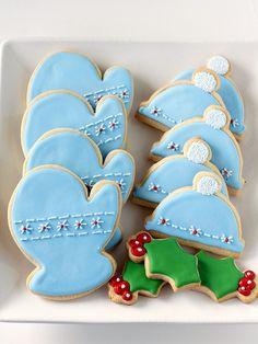 Treats: Hat and Mitten Sugar Cookies