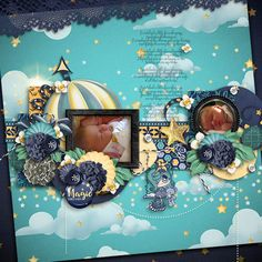 Layout using {Dazzling Dreams} Digital Scrapbook Collection by Paty Greif  available at Pickleberrypop https://www.pickleberrypop.com/shop/manufacturers.php?manufacturerid=168 #patygreif