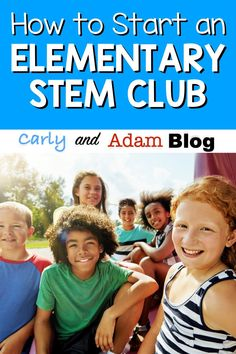How do you start an Elementary STEM Club? Click here for all of Carly and Adam's tips and tricks. This guest post by Dr. Jacie Maslyk details the many things you should consider as you begin an elementary STEM club.