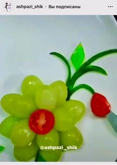 Easy Food Art, Creative Food Art, Fruit Decorations, Food Decoration, No Cook Meals, Kids Meals, Fruits For Kids, Food Carving, Food Garnishes