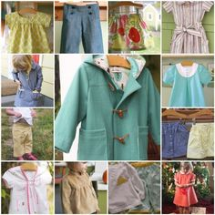 Sewing blog with tons of ideas for little girl's projects and clothes.