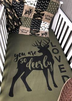 Baby Nursery Bedding Set Baby Woodland Dear Moose
