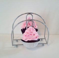 DECORATIVE KNOBS fake cupcake Door knobs set of 2 kitchen knobs ...