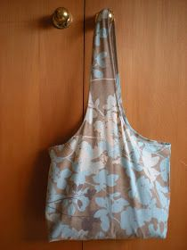 Bag from vintage pillow case tutorial