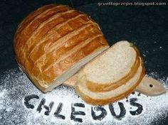 GRUNT TO PRZEPIS!: Prosty chleb ktory zawsze wychodzi Bread Bun, Bread Rolls, Bread Recipes, Cake Recipes, Cooking Recipes, Sandwich Cake, Polish Recipes, Cookie Desserts, Bread Baking