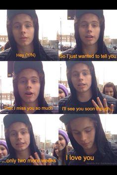 Awww. Luke imagine