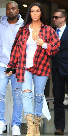 Kim Kardashian West's Best Street Style Moments - January 18, 2017 from InStyle.com
