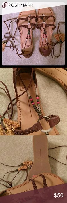 NEW Dolce Vita gladiator sandals New super cute leatger gladiator sandals. Original price 100$. Dolce Vita Shoes