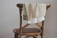 Handtücher - Gestricktes Handtuch - ein Designerstück von zwecklos bei DaWanda