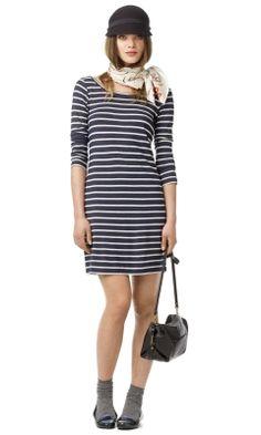 Courtney Striped Dress - Club Monaco  - Club Monaco