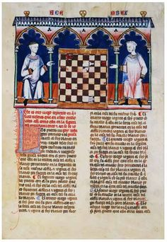 Alfonso X Book of Games. 99f