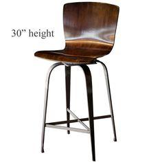 Fresno Swivel Bar Stool | 30-in Seat Height