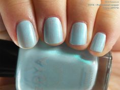 Zoya Professional Lacquer in Rayne (swatch by fivezero.ca) [blue, pastel, turquoise]
