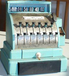 vintage picture of toy store Childhood Toys, Childhood Memories, Vintage Cash Register, Metal Toys, Toy Store, Vintage Pictures, Vintage Toys, Unique Jewelry, Handmade Gifts