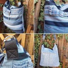 Chobe Bag aus Jeansresten. Rest, Jeans, Denim, Denim Pants, Denim Jeans