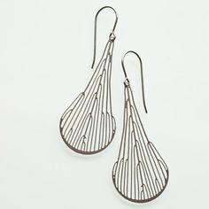 Dichotomous Earrings by Poketo