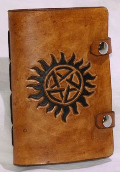 Leather Supernatural Journal/Sketchbook $25 https://www.etsy.com/listing/187455140/leather-supernatural-journalsketchbook?ref=shop_home_active_2