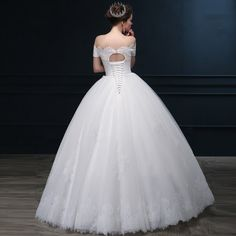 2015 new wedding dress free shipping Korean winter word shoulder short sleeve Slim Qi trailing custom wedding