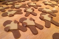 En småkagemand med hjerte - Bagvrk.dk Hello Sweetie, Bon Appetit, Gingerbread Cookies, Sweets, Candy, Snacks, Chocolate, Baking, Desserts