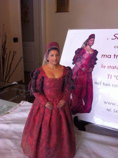 Selfie 3D in historical costume (costume by Monica Fiorito)