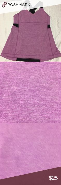 Lululemon Push Your Limits Tank LULULEMON PUSH UR LIMITS TANK TOP  Heathered Purple  Size 10 Great tank that is designed for maximum exertion during sweat sessions  Made with Luxtreme for maximum moisture-wicking and anti-stink capabilities built-in shelf bra  room for removable cups the thick racerback straps are supportive and allow for complete freedom of movement Flat seams designed for: yoga, run  fabric: Luxtreme fit: slim  shelf bra: yes  Medium support & coverage Hip length Good…