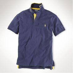 Polo Ralph Lauren particulière Slim Custom-Fit-Tipped Collier Marine 1718c195ad2b