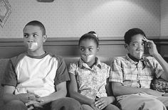 """Everybody Hates Chris - Season 2 - """"Everybody Hates the Last Day"""" - Tequan Richmond as """"Drew"""", Imani Hakim as """"Tonya"""", and Tyler James Williams as """"Chris"""" Tyler James, Tumblr Stuff, Classic Tv, Laughing So Hard, Social Justice, Tumblr Funny, Funny Posts, Favorite Tv Shows, The Funny"""