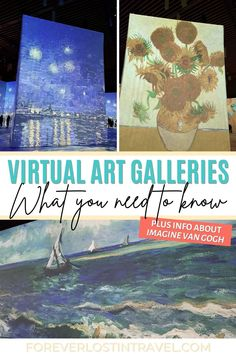 Imagine Van Gogh: Virtual Art Gallery Of A New Kind - Forever Lost In Travel