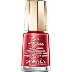 Mavala - Mini Color 257 Ottoman, Nagellack, 5ml Mavala Nail, Cleaning Supplies, Nail Colors, Soap, Pearls, Cream, Bottle, Mini, Makeup