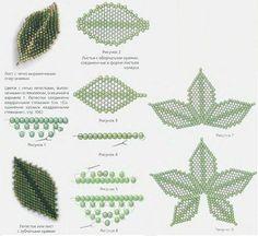Leaf Schema - #seed #bead #tutorial