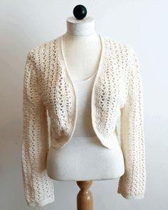 37 Beste Afbeeldingen Van Bolero Haken Crochet Clothes Crochet