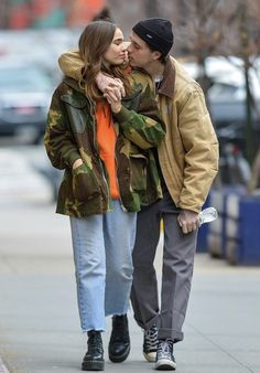 Brooklyn Beckham and New Girlfriend Hana Cross Pack on the PDA During Lunch Date in N. - Brooklyn Beckham and New Girlfriend Hana Cross Pack on the PDA During Lunch Date in N. Love Quotes For Girlfriend, Love Husband Quotes, New Girlfriend, Boyfriend Quotes, Fashion Couple, Look Fashion, Mens Fashion, Goth Outfit, Sup Girl