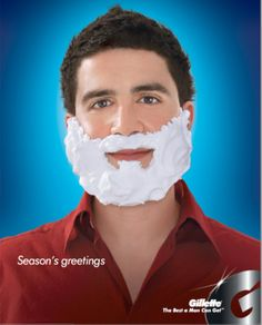 Gillette advertisement #holidaymarketing