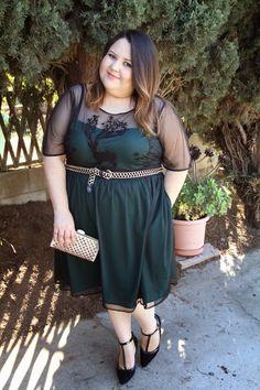 AlessandraGonzalez.Com: Holiday Outfit Ideas Featuring eShakti | Moda Para Gorditas Atuendos Para Estas Fiestas con eShakti