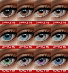 GPME Eyes V3 at GOPPOLS Me image 1983 670x715 Sims 4 Updates
