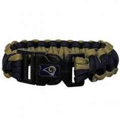 Los Angeles Rams Paracord Bracelet