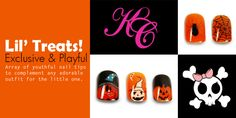 It sure is fun to play the dress-up. KleanColor Baby Boo Kid's nail tips offer the cutest designs for creating the memorable memory for the little one(s).