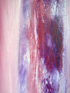 Patrizia Biaducci, paesaggio in rosa, olio su tela 2015 (dettaglio)