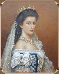 Sissi, Elizabeth of Bavaria, Hungarian Empress Habsburg - Austro-Hungarian, like me.