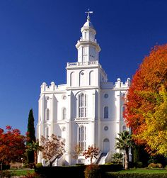 St. George Utah Temple: I wasn't Mormon and living deeeeep in Mormon land. They were very enthusiastic about their religion...the whole thing tripped me out.