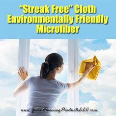 """Streak Free"" Microfiber Cloths   Favorite #GreenCleaning Products for Streak Free Windows http://greencleaningproductsllc.com/streak-free-microfiber-cloths-favorite-green-cleaning-products-for-streak-free-windows/"