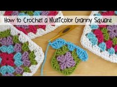 Fiber Flux: How to Make A Granny Square (photo + video tutorial)