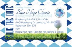 *SAVE THE DATE* 2nd Annual Blue Hope Classic Golf Tournament @Chris4Cure